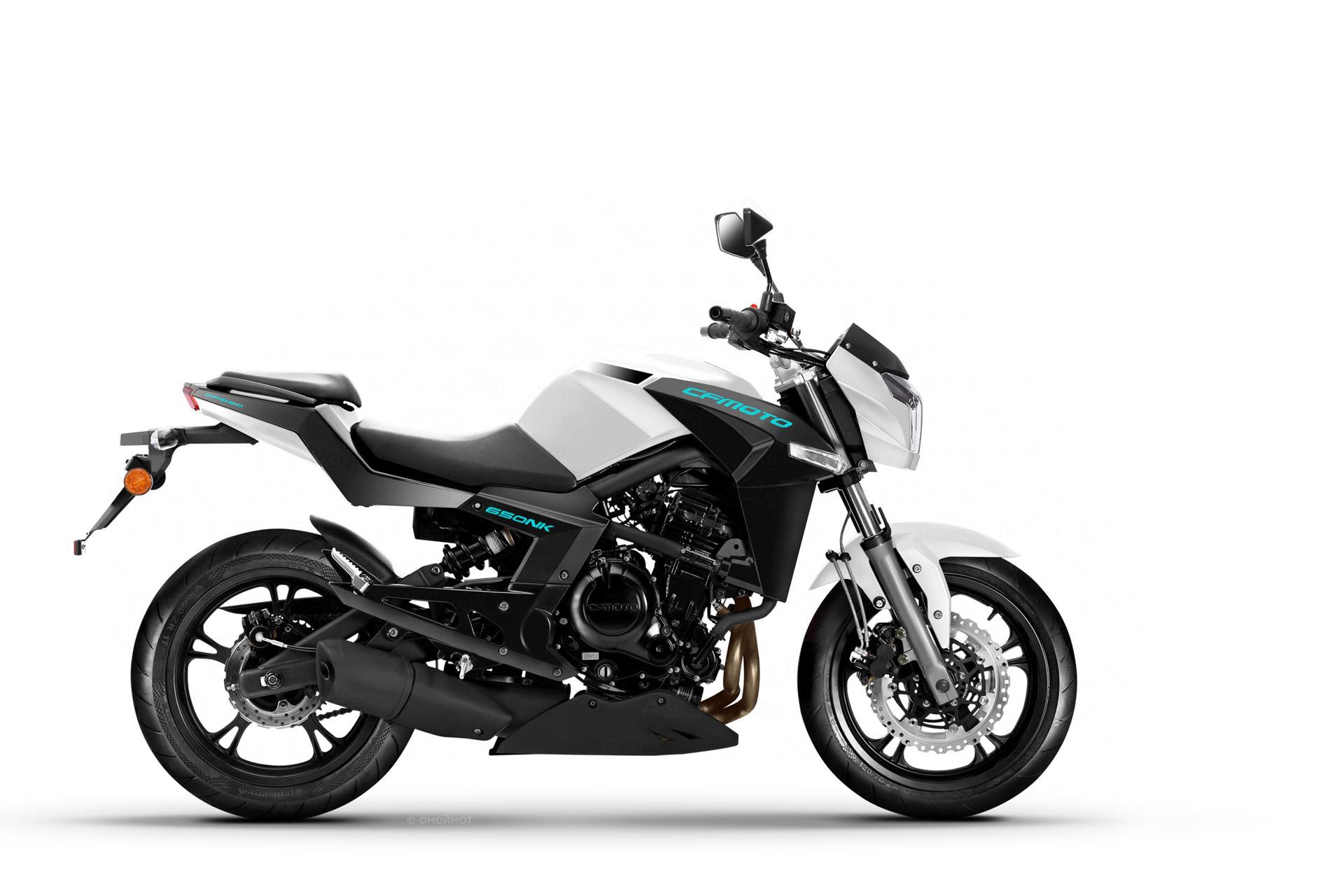 Мотоцикл CF-Moto 650NK – нейкед на базе Kawasaki Er-6n.
