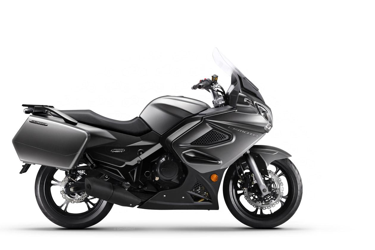 Китайский мотоцикл CF-moto 650TK.