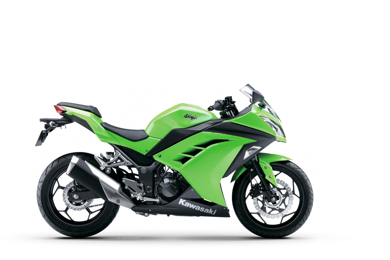 Новый мотоцикл Kawasaki Ninja 300 2012 модельного года
