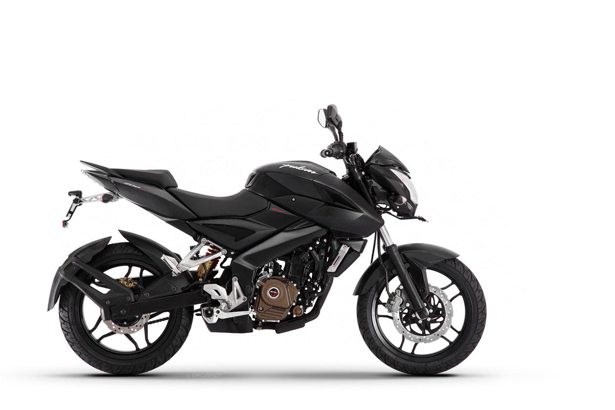 Новый мотоцикл Bajaj Pulsar 200NS (Бажаж Пулсар 200НС).