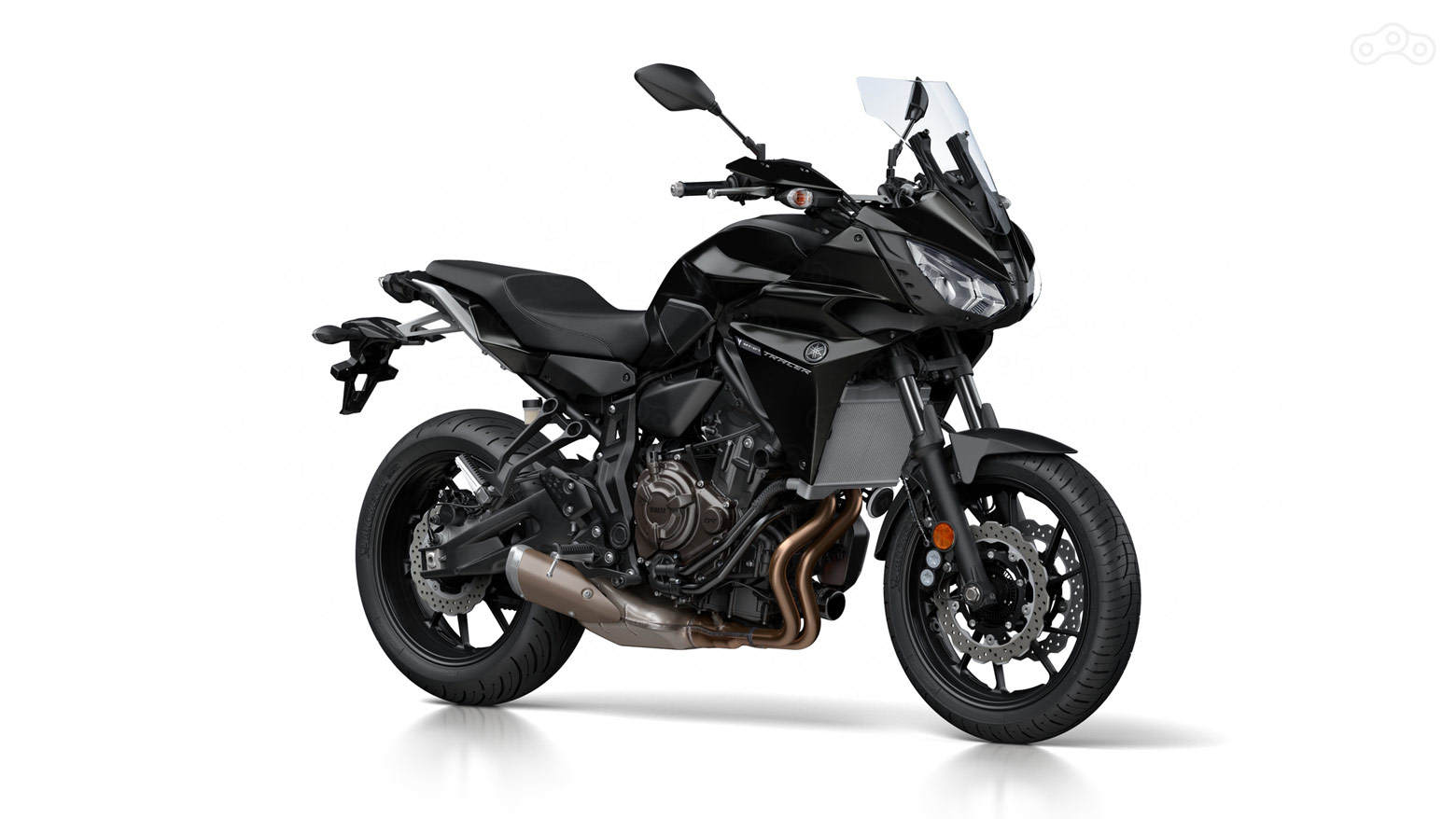 Yamaha Tracer 700 Tech Black – чёрный цвет
