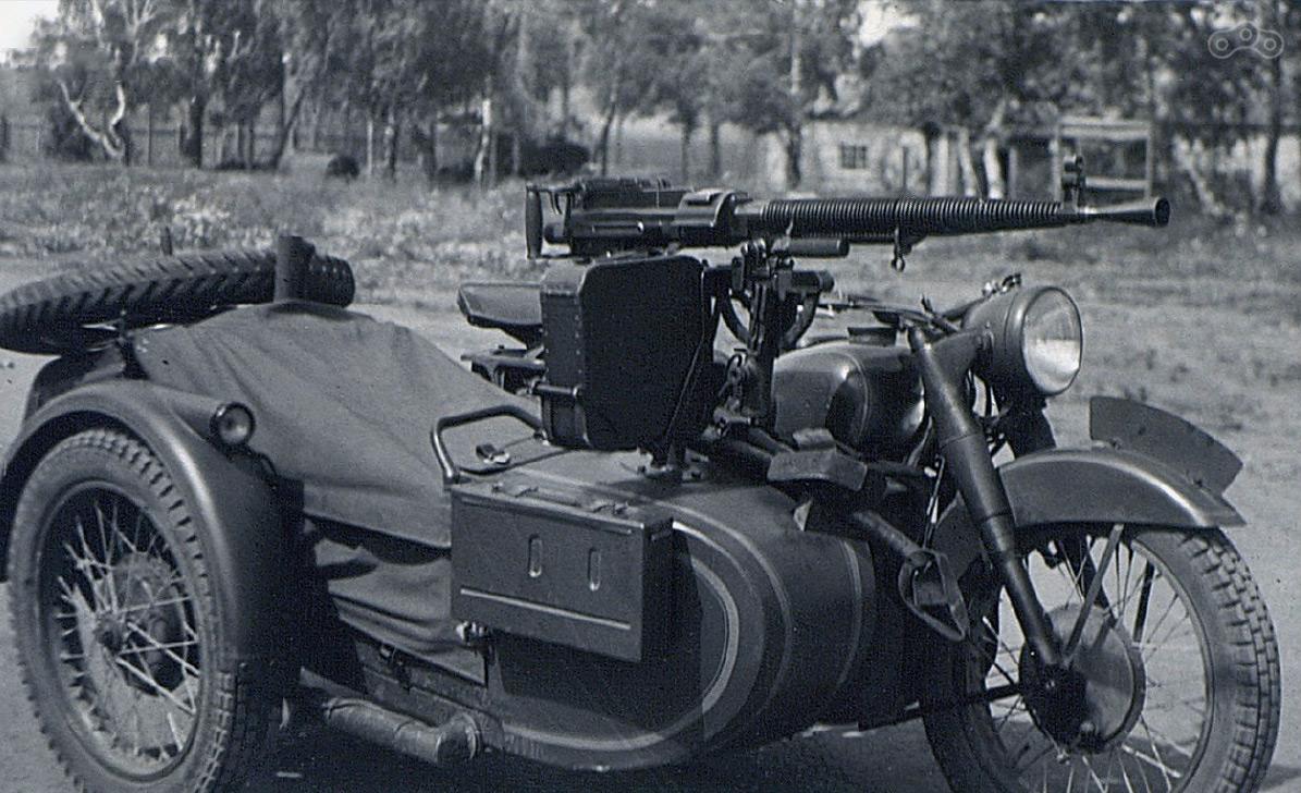 М-72 с крупнокалиберным пулемётом ДШК