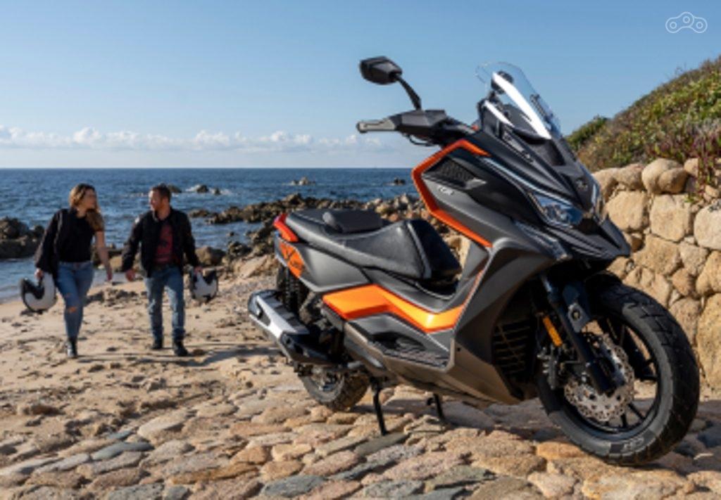 Новые скутеры Kymco