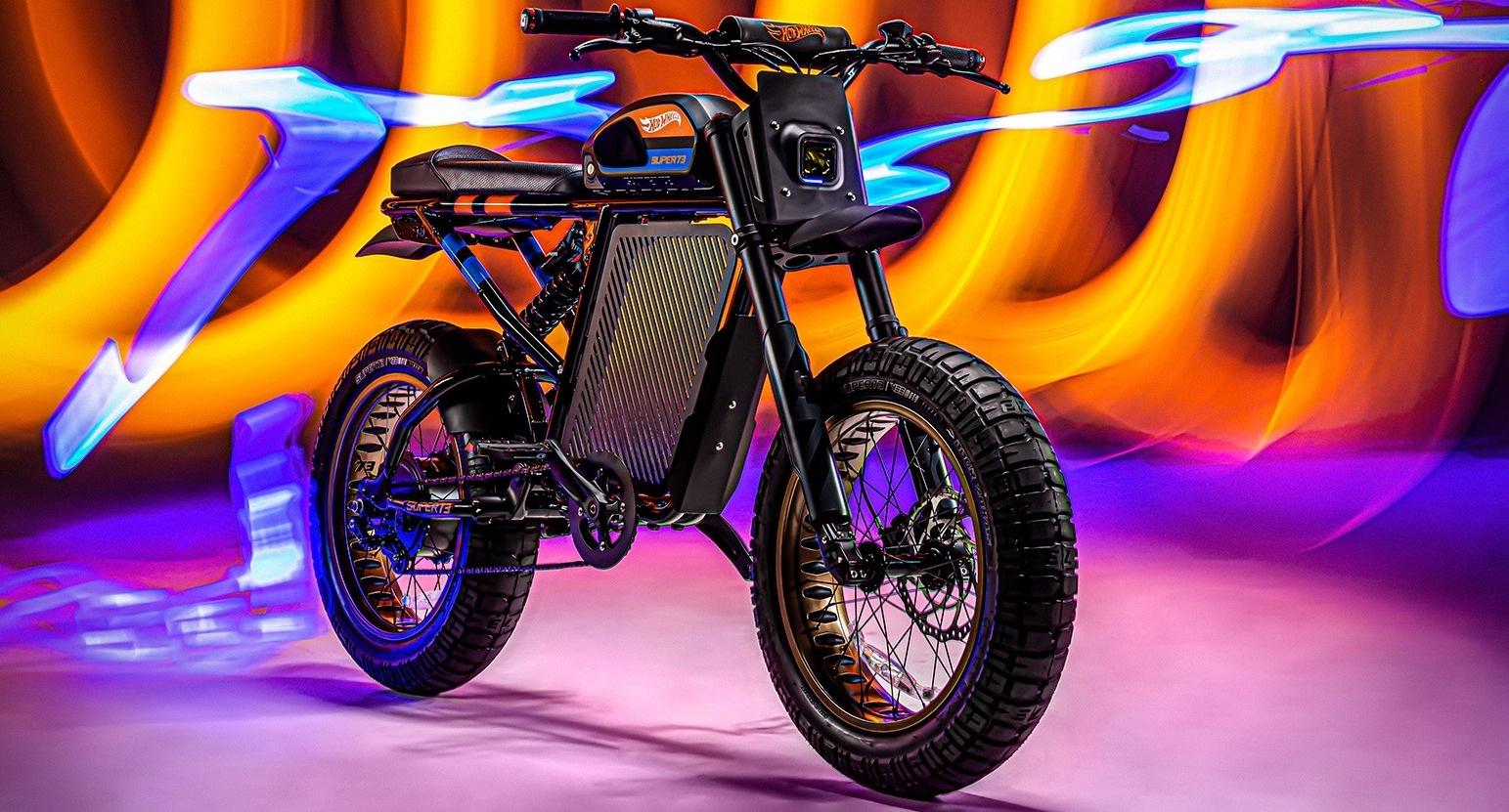 Это вам не игрушки: Hot Wheels выпускает электровелосипед