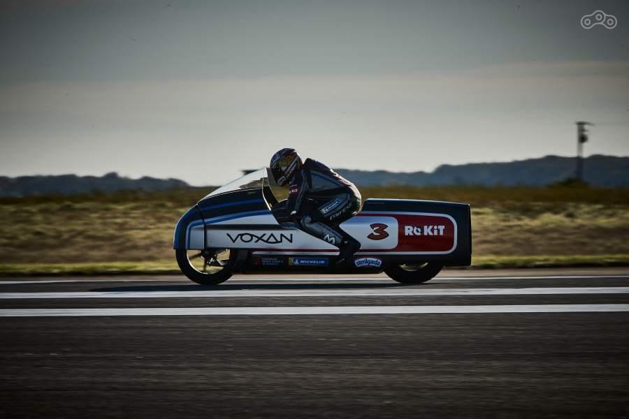 Макс Бьяджи установил одиннадцать рекордов скорости