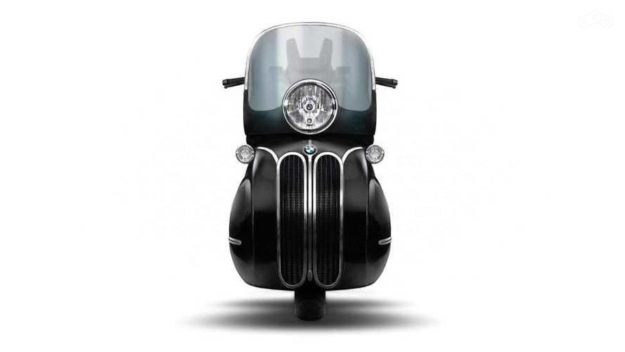 NMoto Golden Age: самый необычный скутер BMW