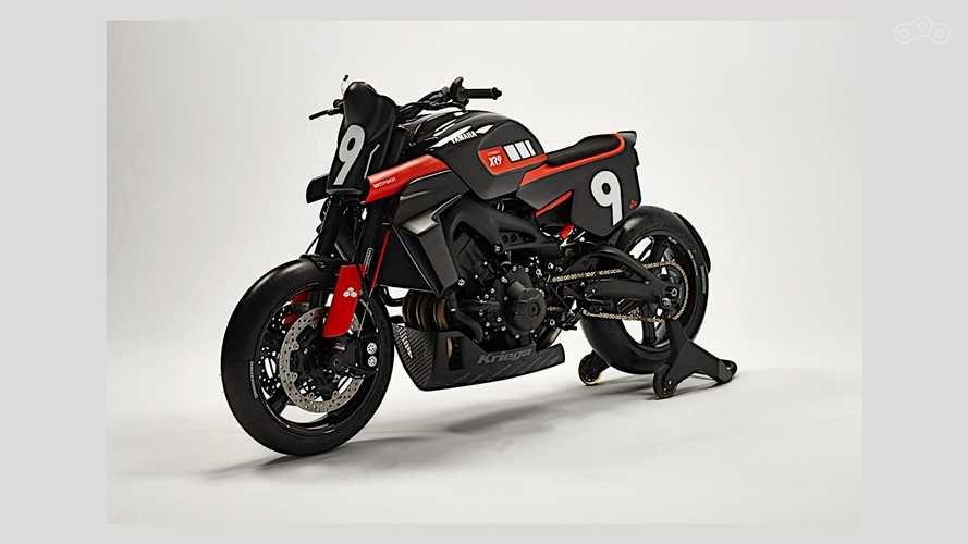 Yamaha + Bottpower = карбоновый XSR900