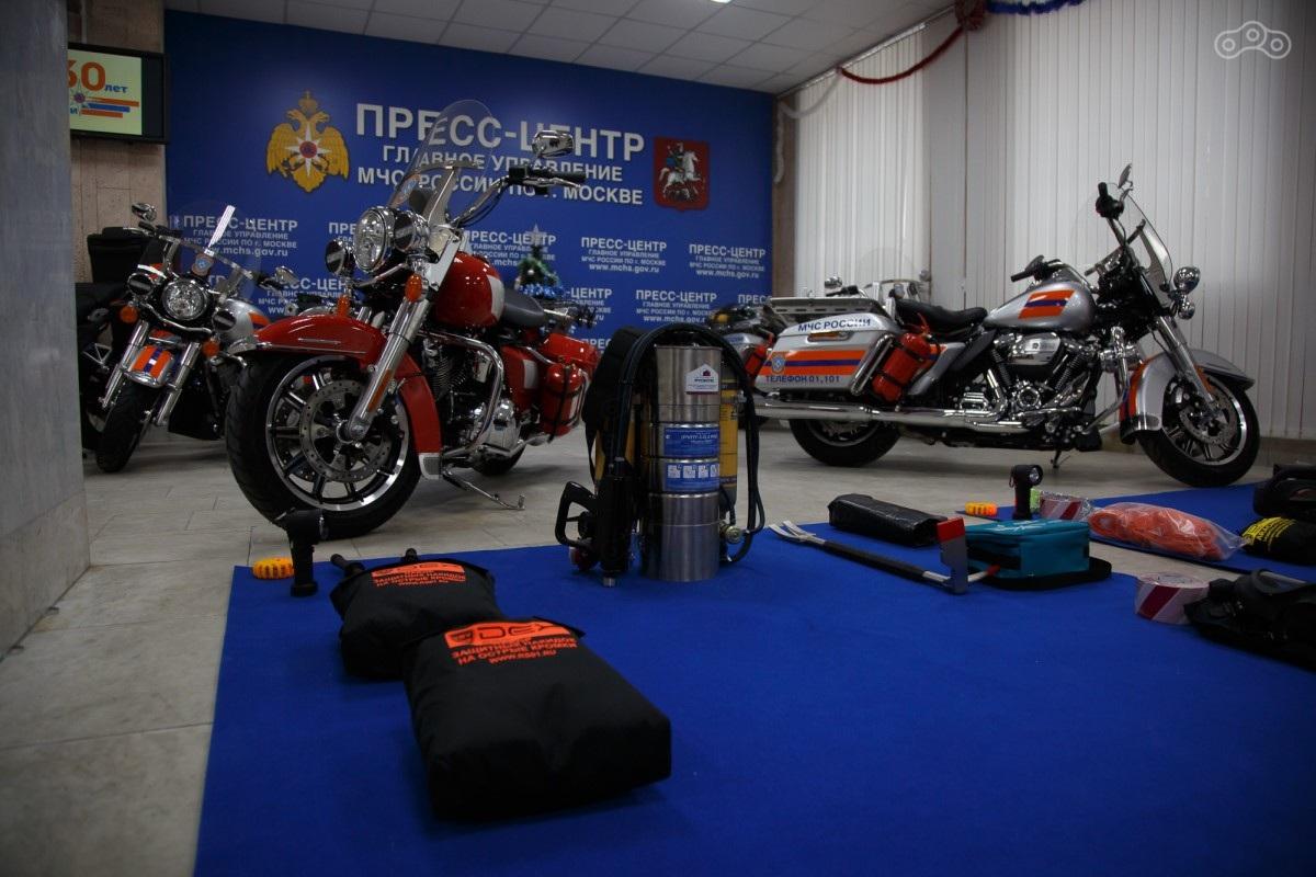 Московские спасатели будут ездить на Harley-Davidson