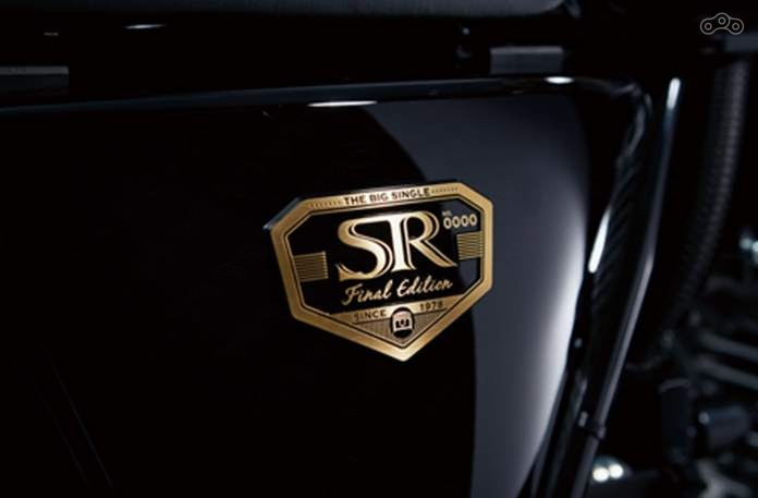 Yamaha SR400, финальная версия