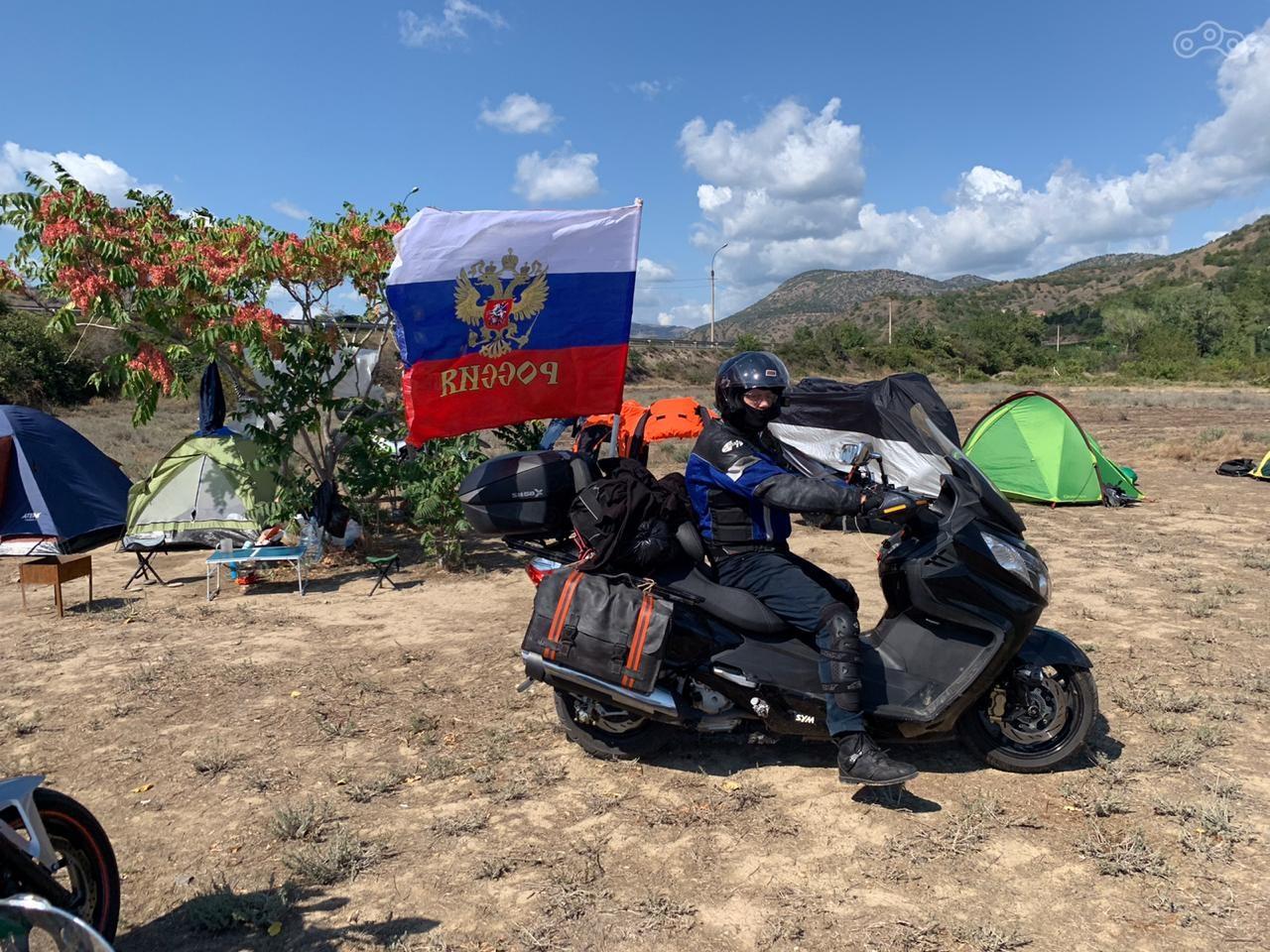 В Крым на SYM