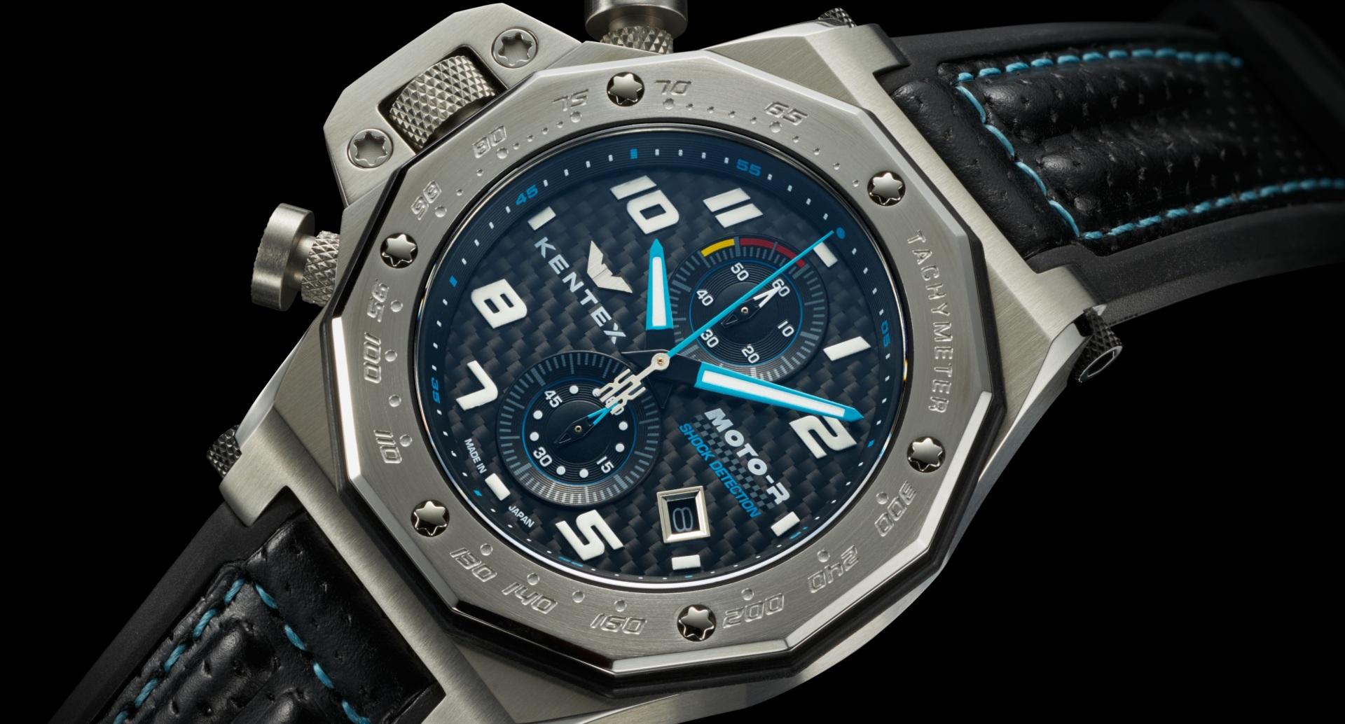 Наручные часы для мотоциклистов Kentex Moto-R