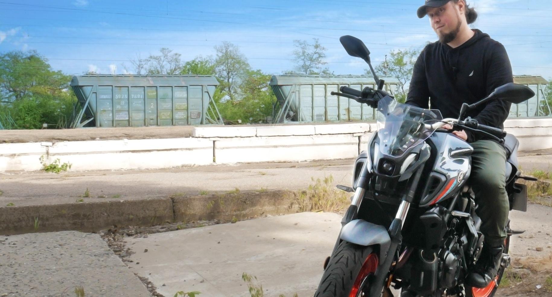 Видео-обзор Yamaha MT-07 (2021)