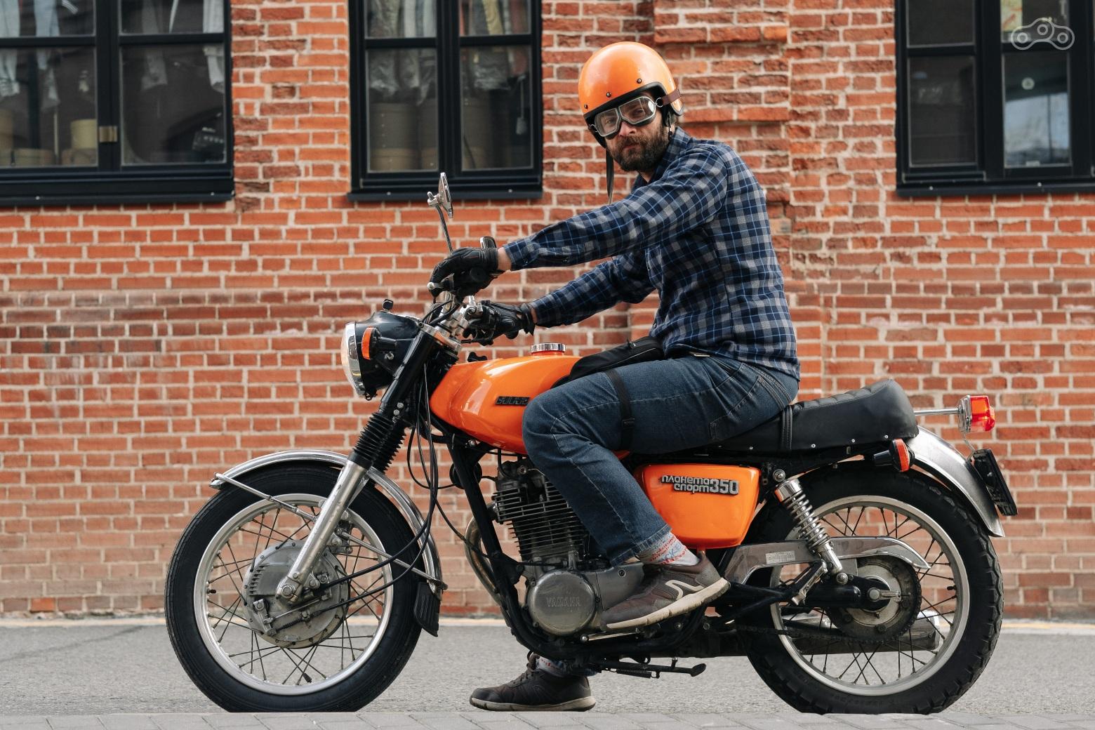 """Порадовал батю: взял старую Yamaha и превратил ее в ИЖ """"Планета-Спорт""""!"""