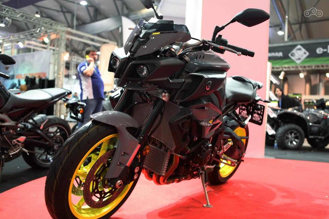 Новая Yamaha MT10 2017 модельного года на выставке Мотозима 2016