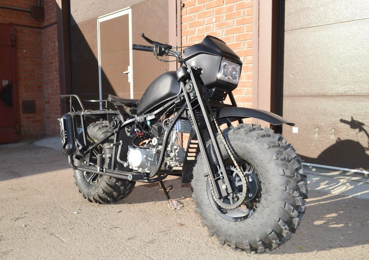 Полноприводный мотоцикл своими руками фото 153