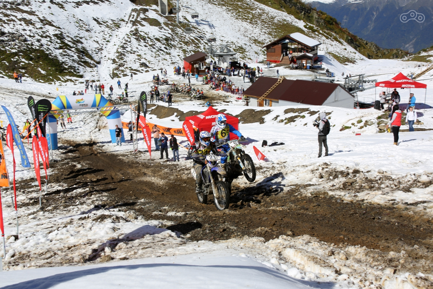 Старт заездов Motul King of the Hill 2016