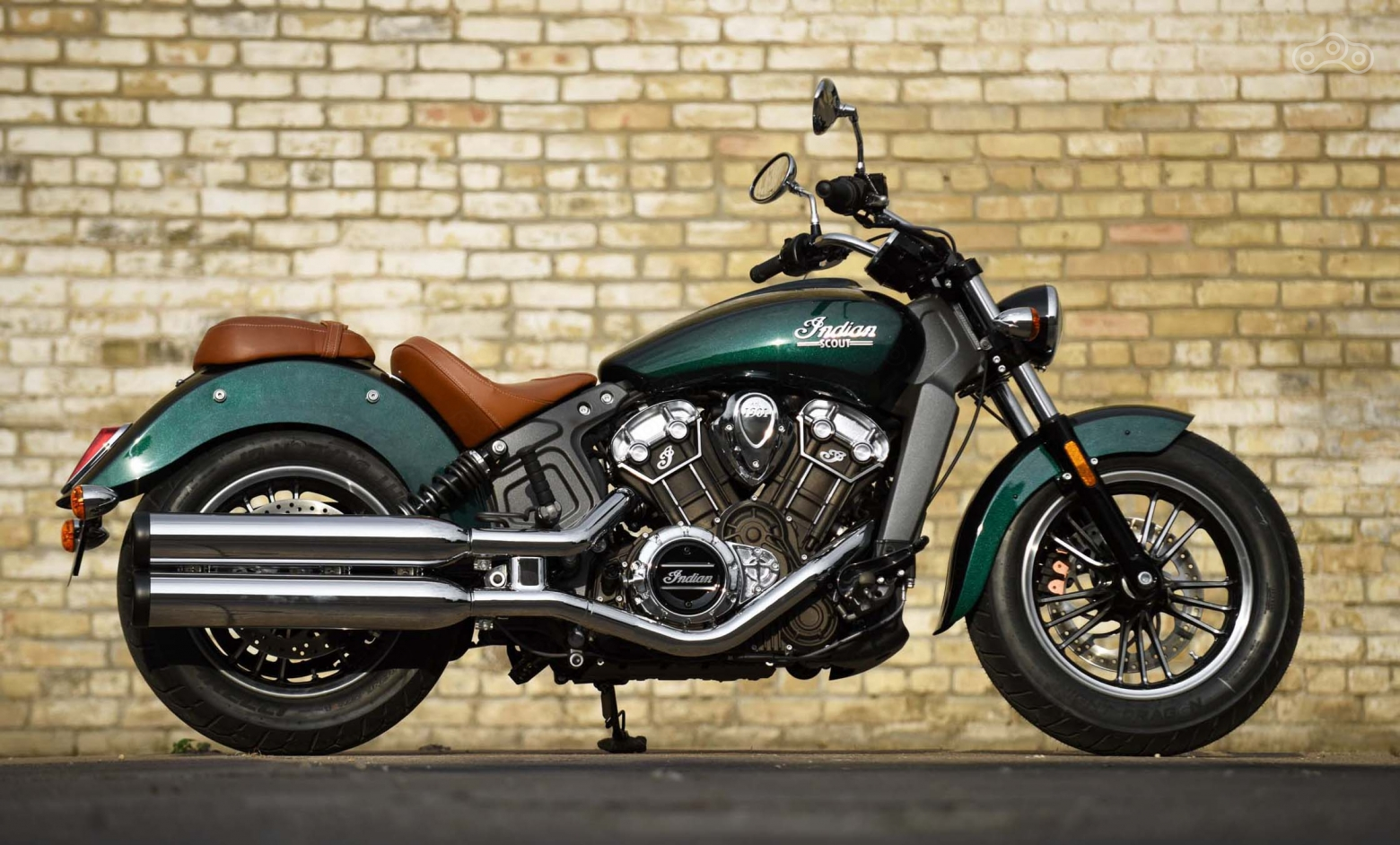 Indian Scout 2018 в расцветкe Willow Green