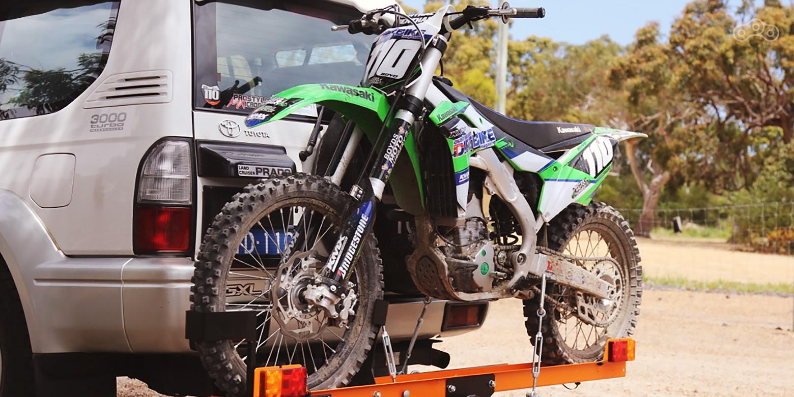 Фаркоп на мотоцикл
