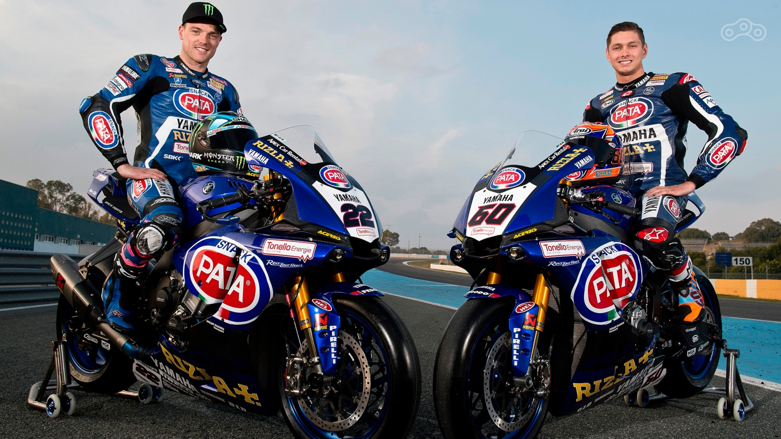 Команда Pata Yamaha World Superbike: Алекс Лауэс и Майкл Ван Дер Марк