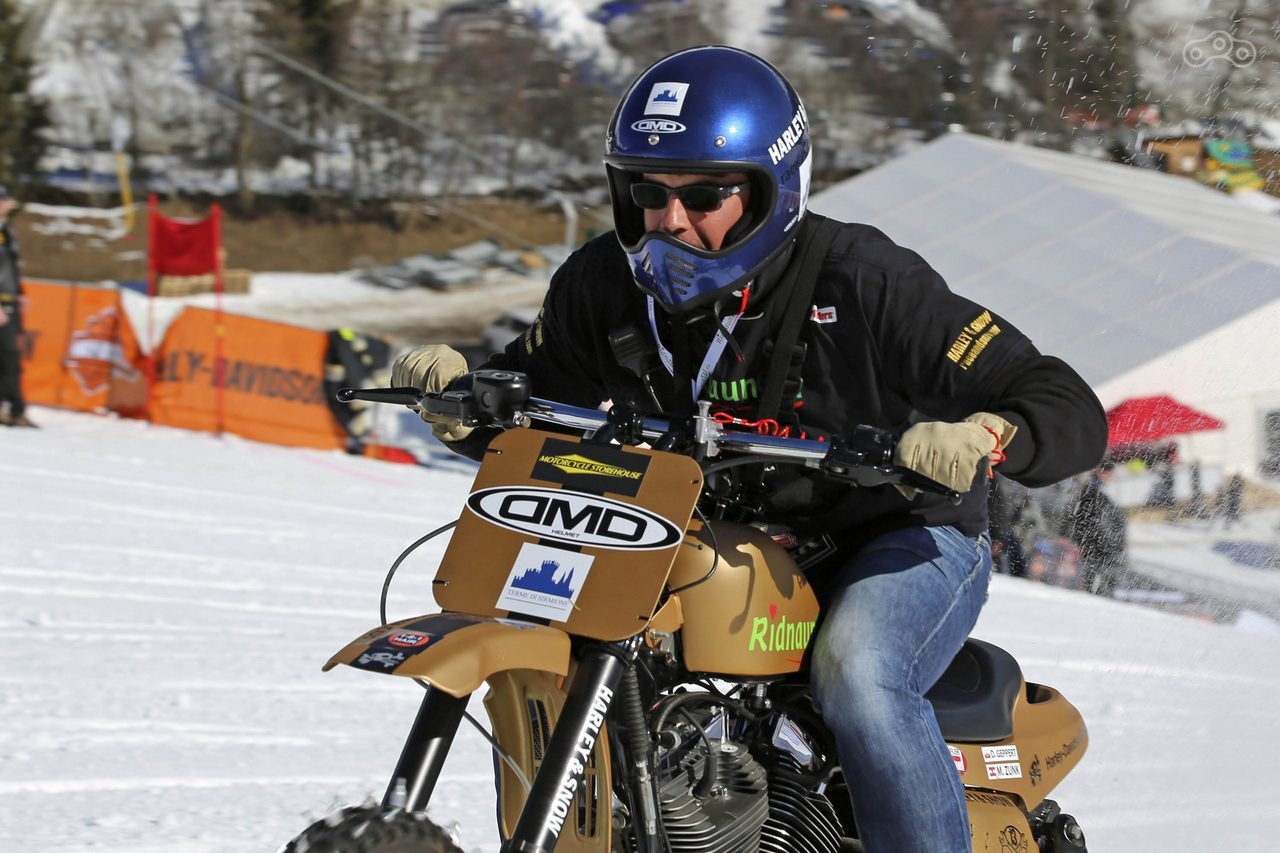 Harley & Snow 2017 Winter motorcycle festival