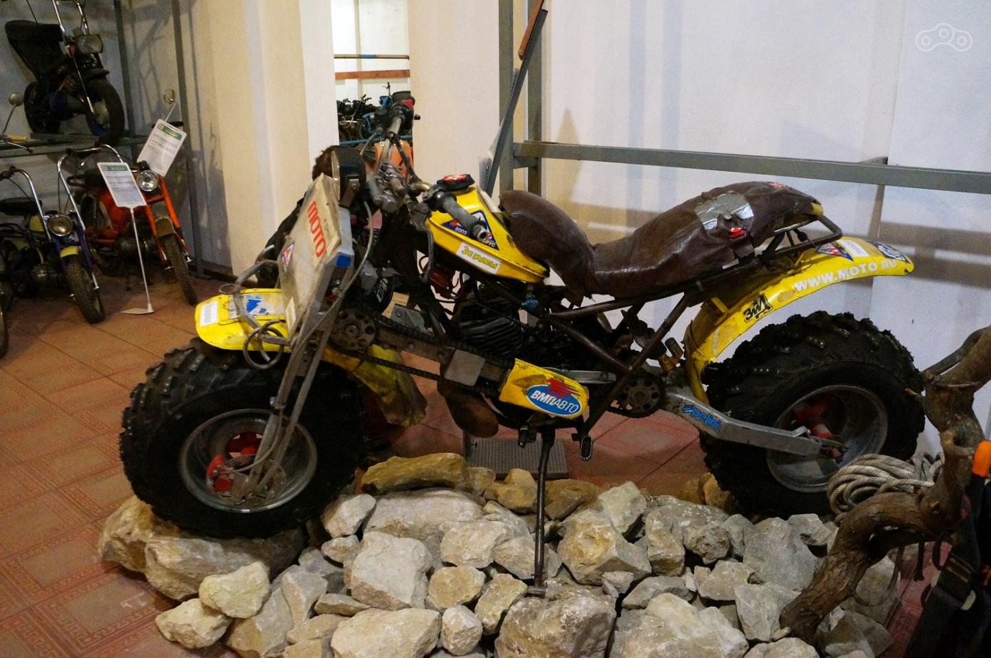 Полноприводный мотоцикл своими руками